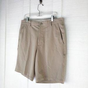 FOOTJOY Performance Stretch Khaki Golf Shorts 34